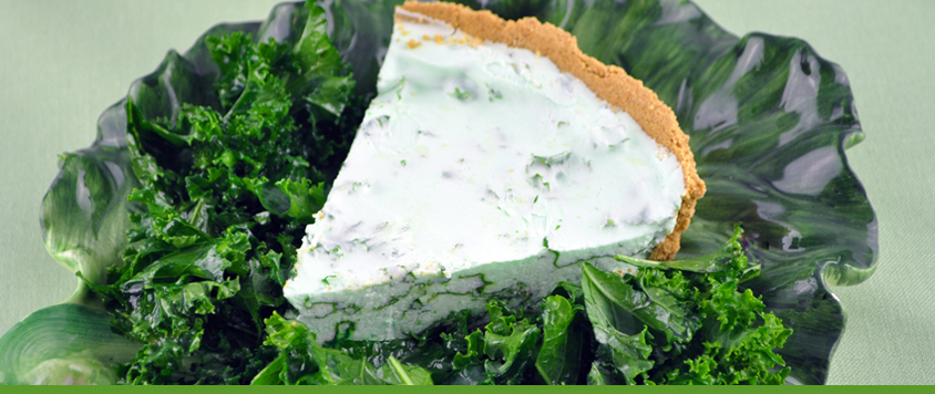 Lucky Low-Cal Key Lime Pie